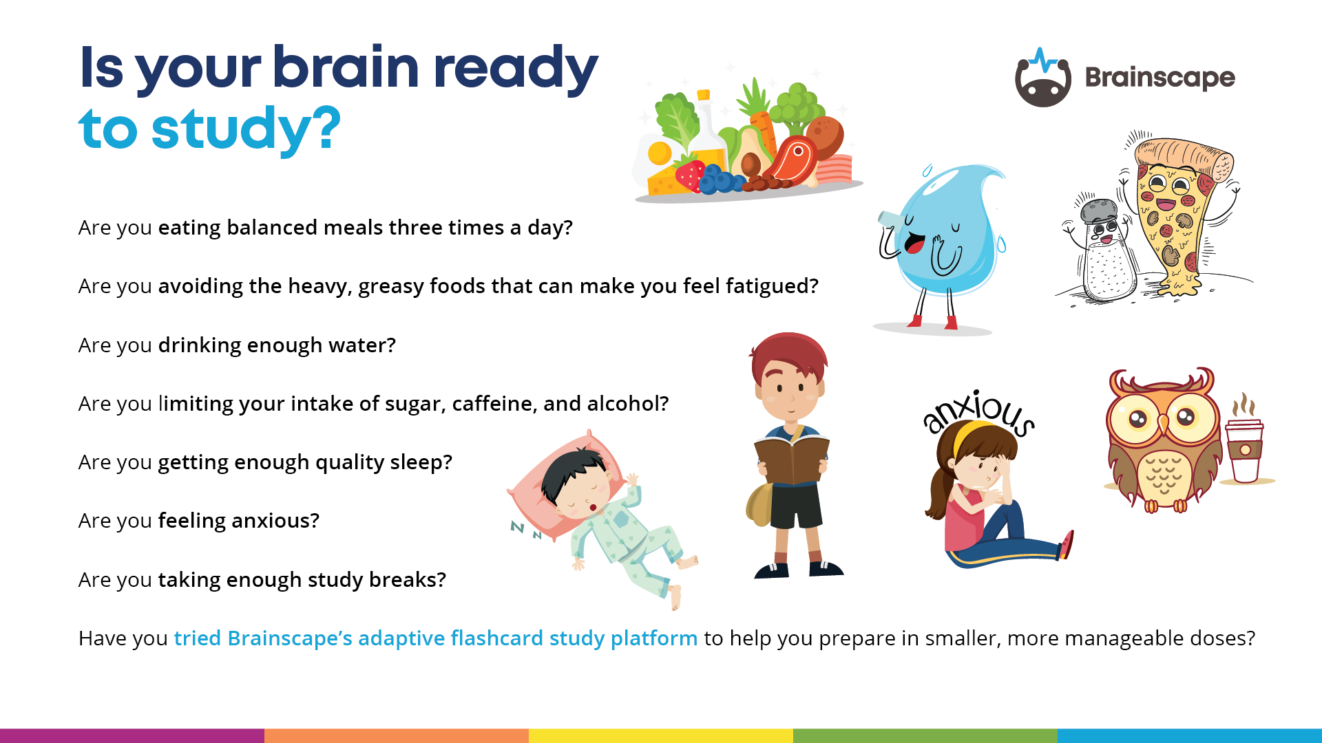 Tips on preparing your brain for study