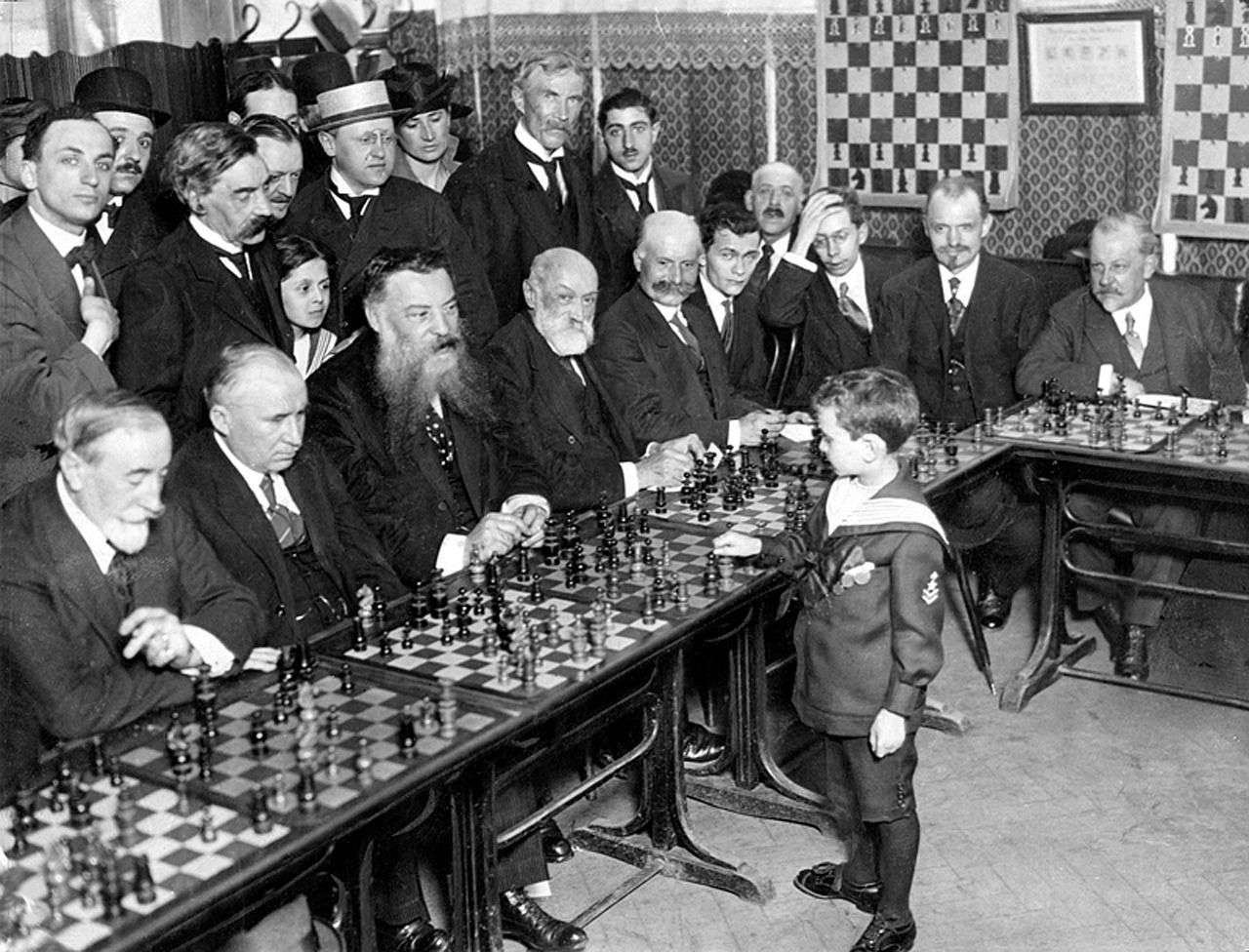 Chess class taught by a kid