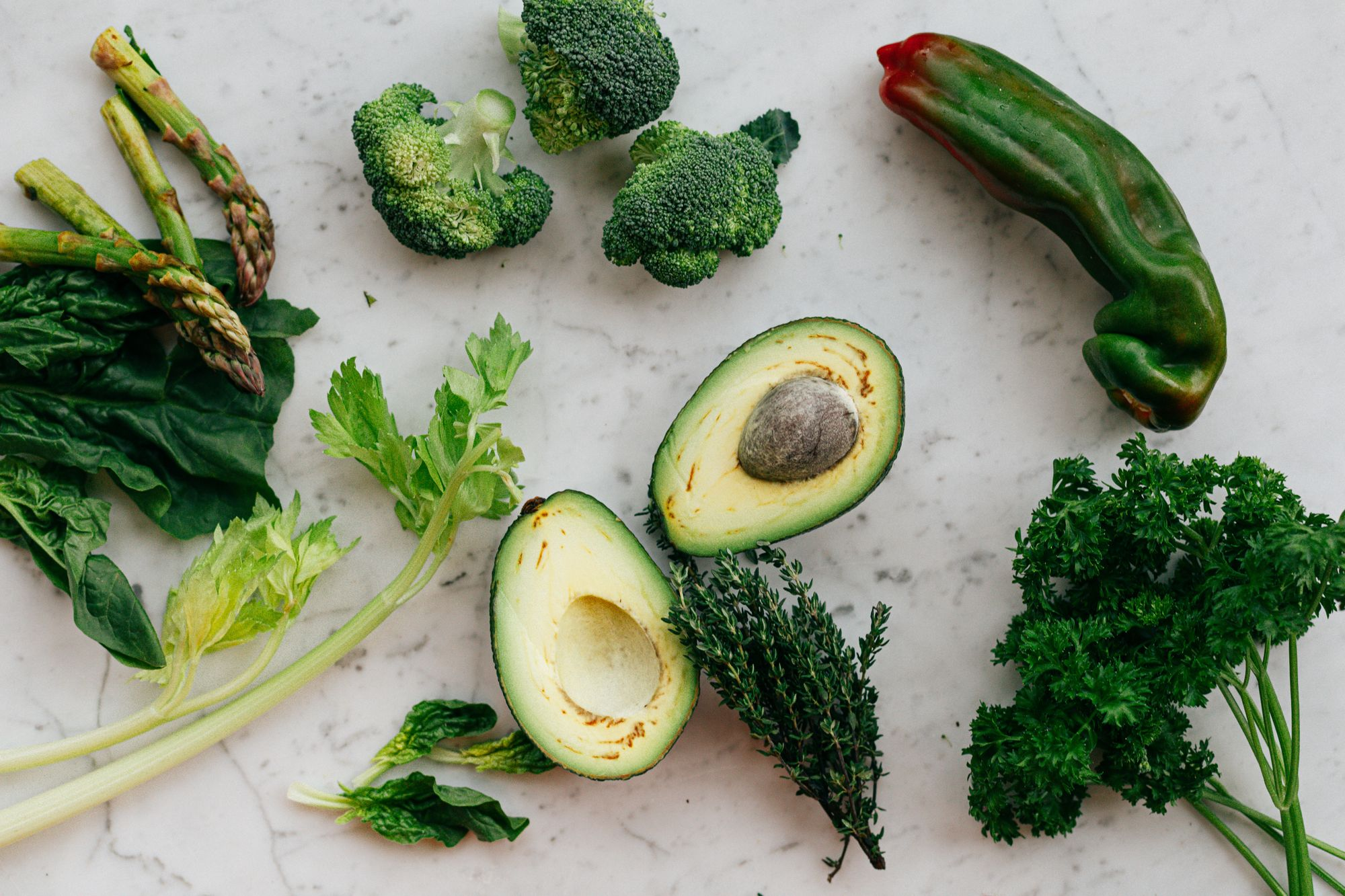 Leafy greens and healthy fats are some of the best brain foods.
