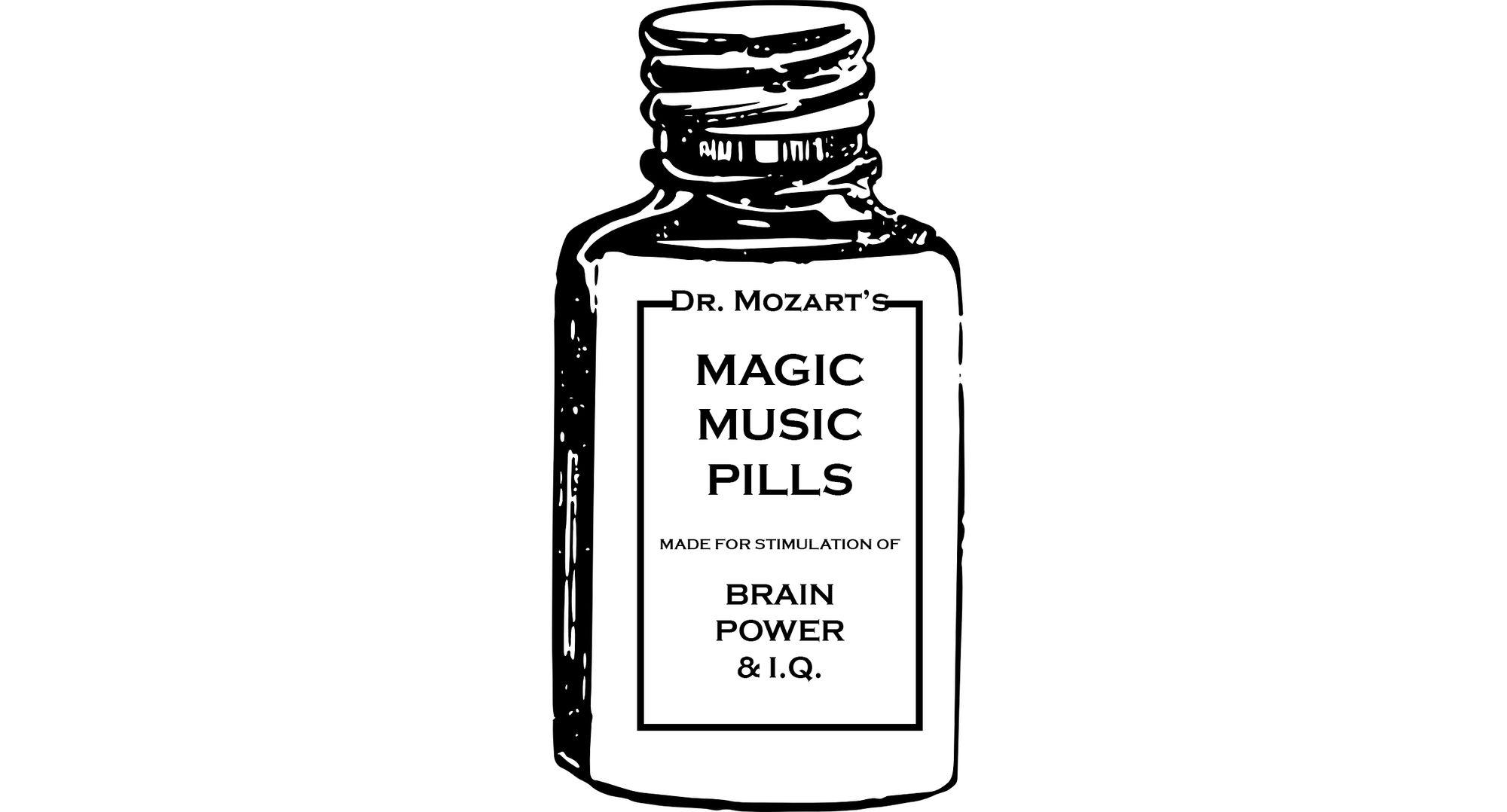 Dr. Mozart Magic Music Pills