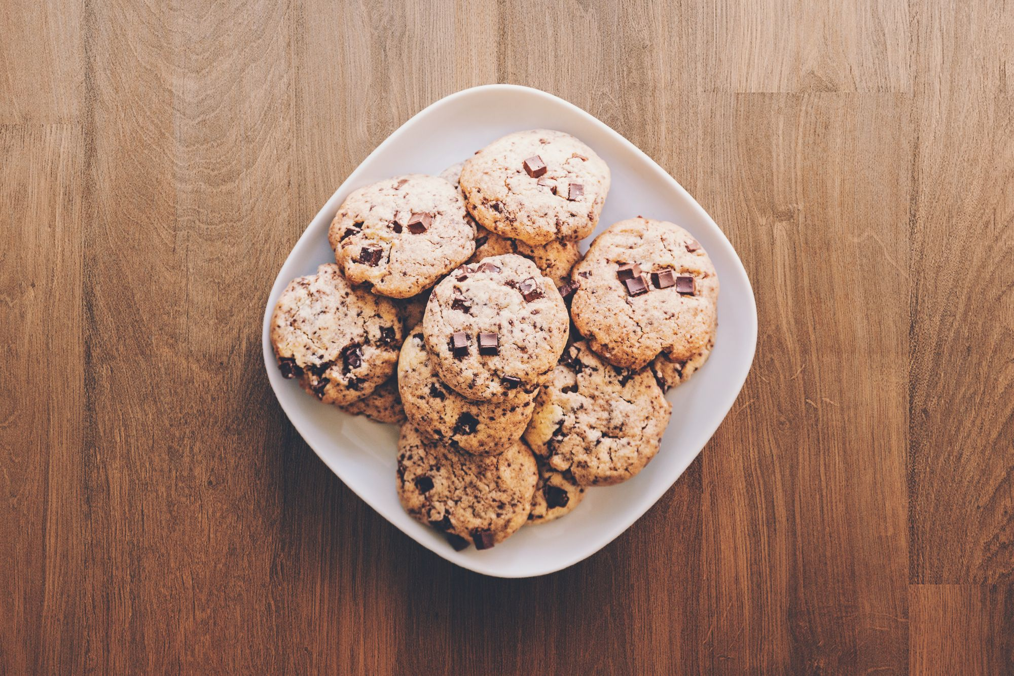 Plate of cookies for learning how to study