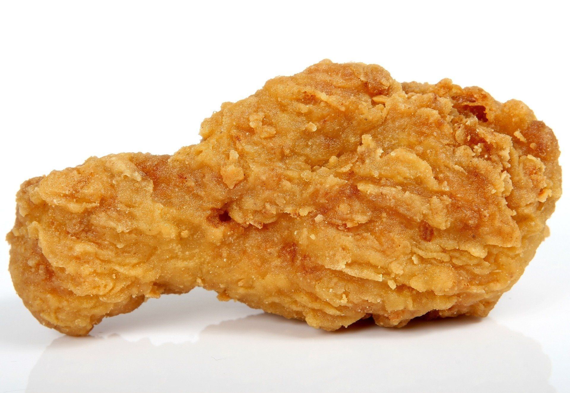 Fried chicken wing bad for brain health