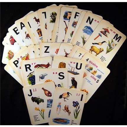 History of flashcards
