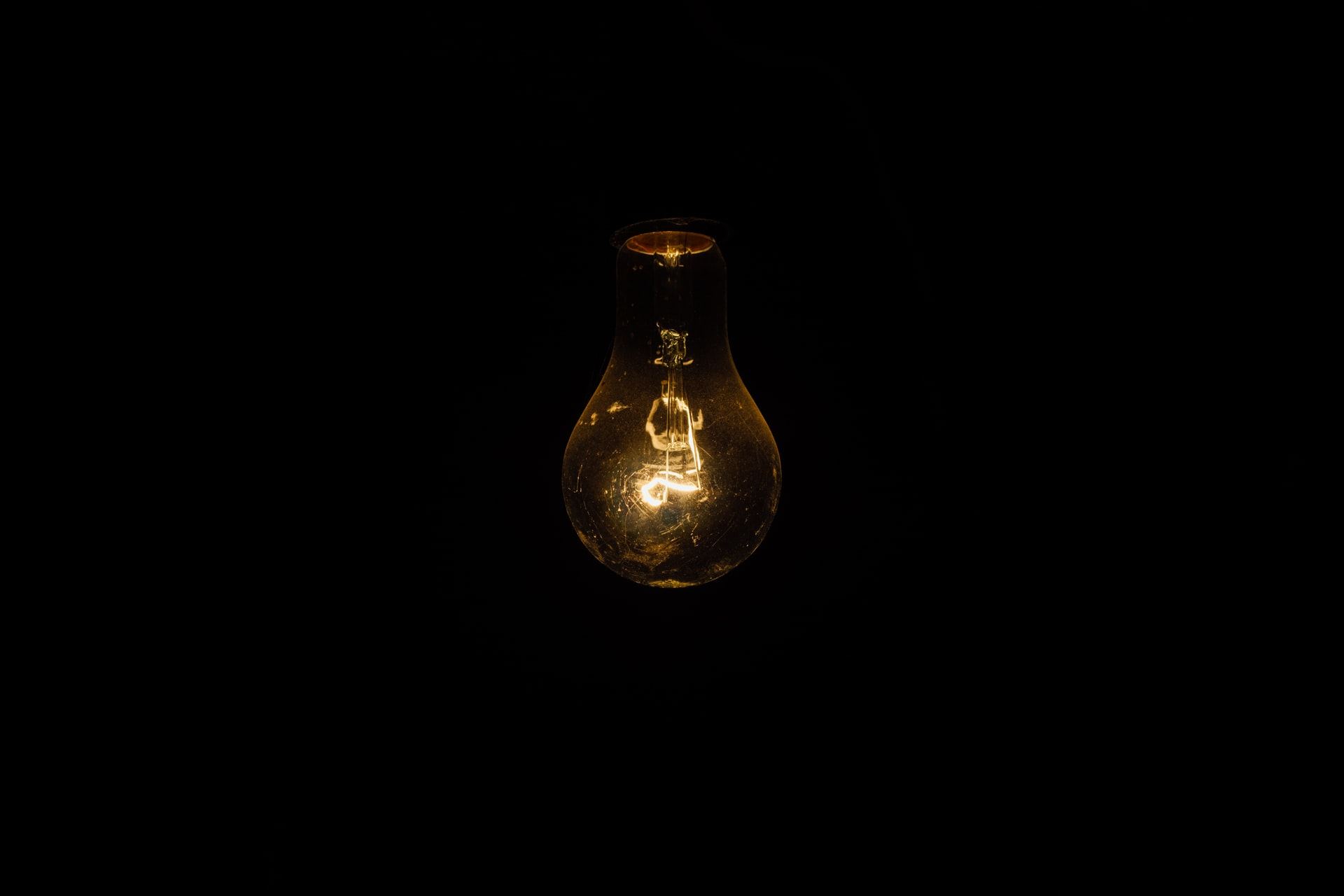 light bulb, gray matter
