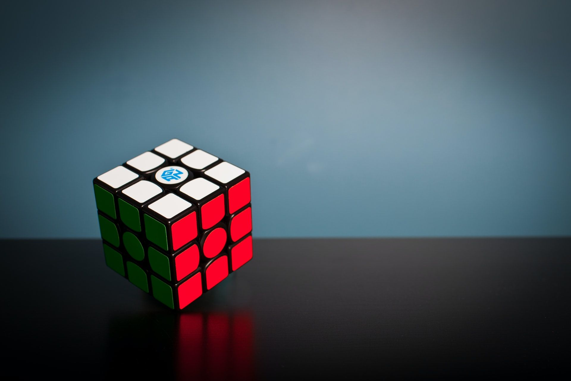 Rubiks cube solved learning and development