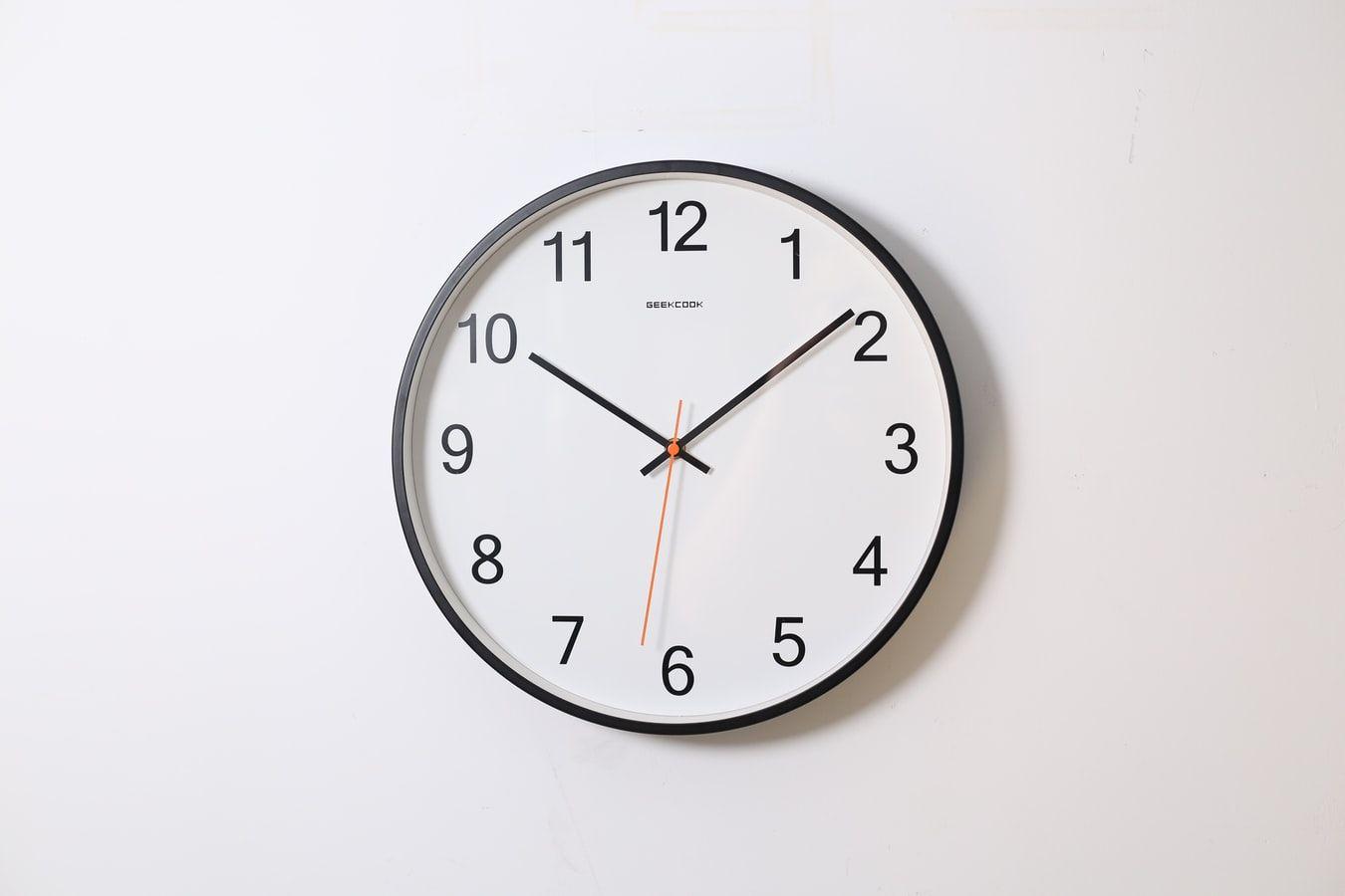 Clock on the wall; Bar exam