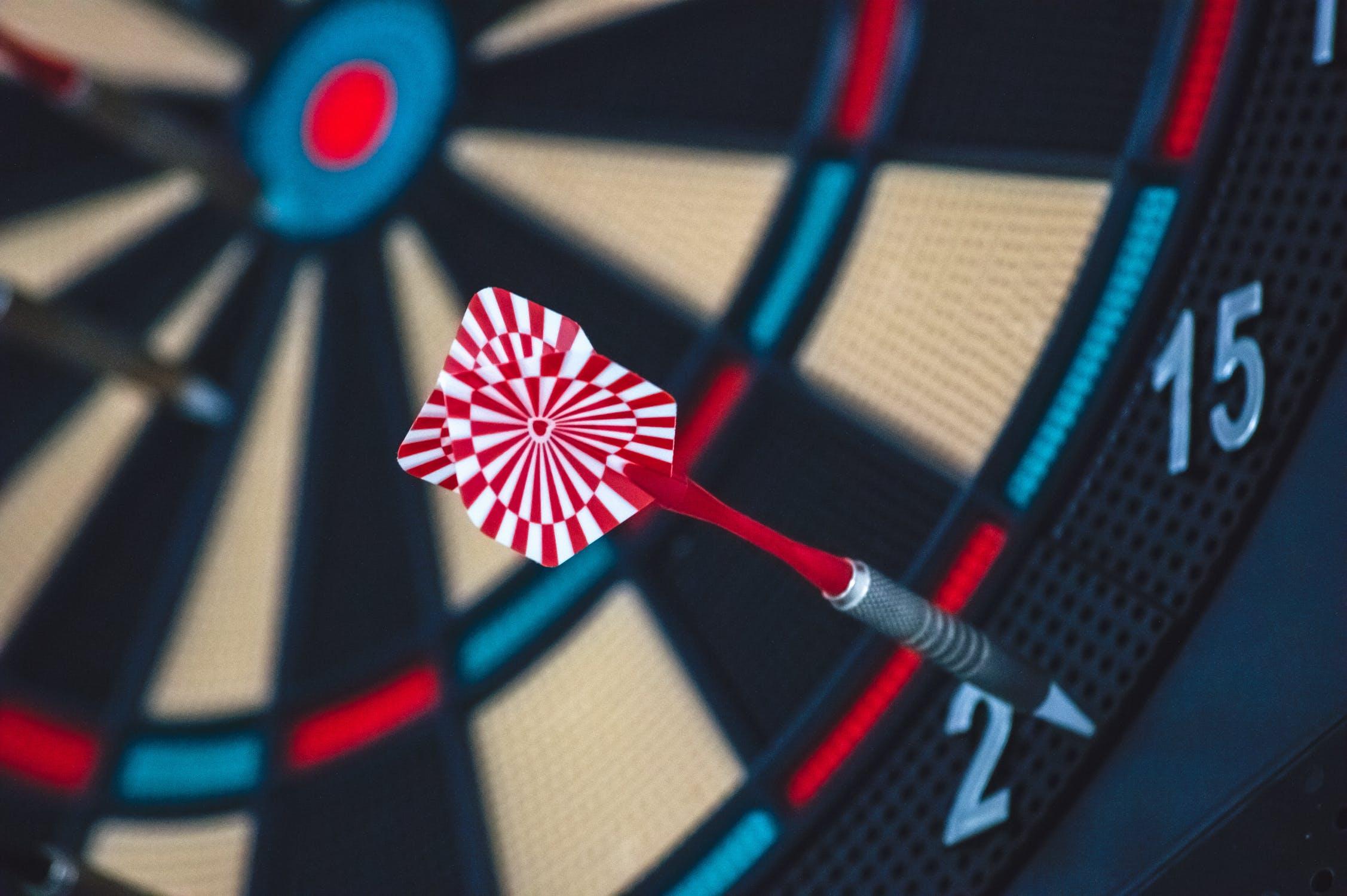 Dartboard; WSET 1 practice exam