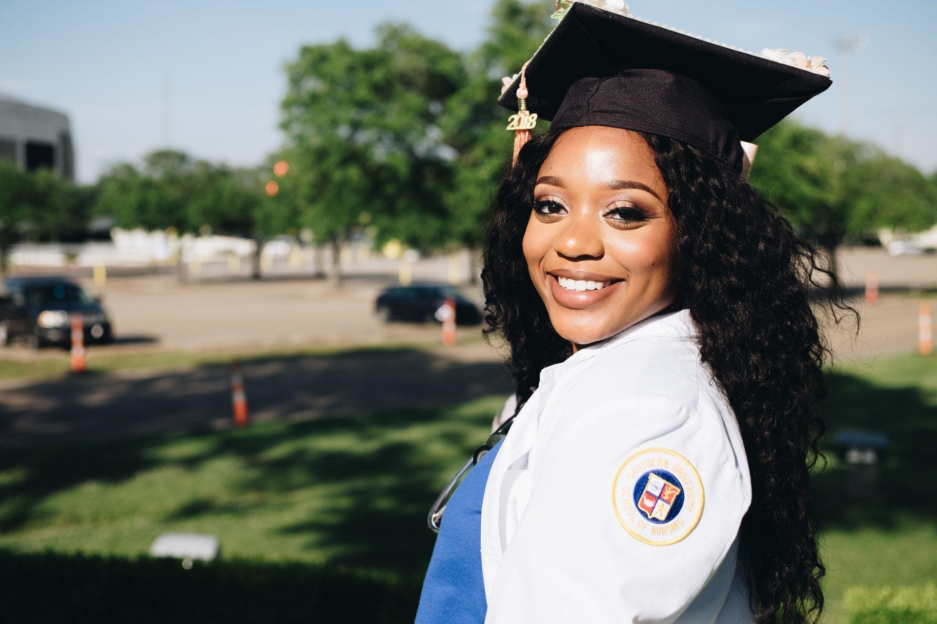 Girl who is graduating; NCLEX study plan
