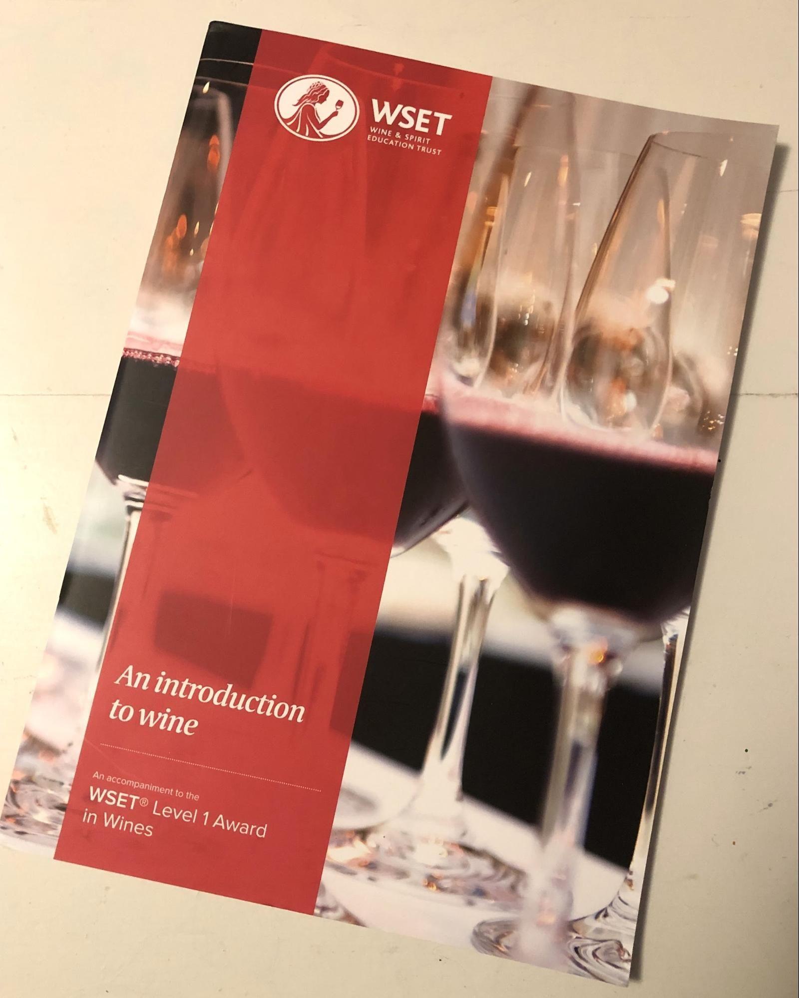 WSET Level 1 Textbook