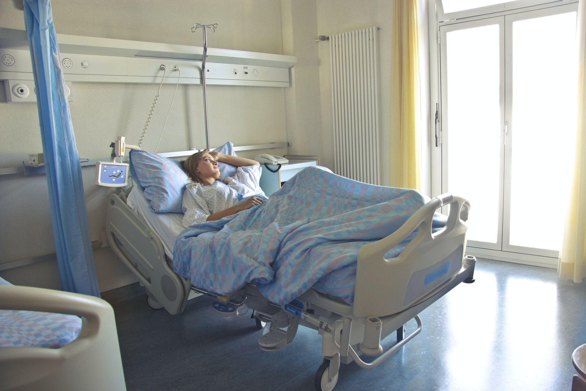Woman lying in hospital; Select all that apply NCLEX questions