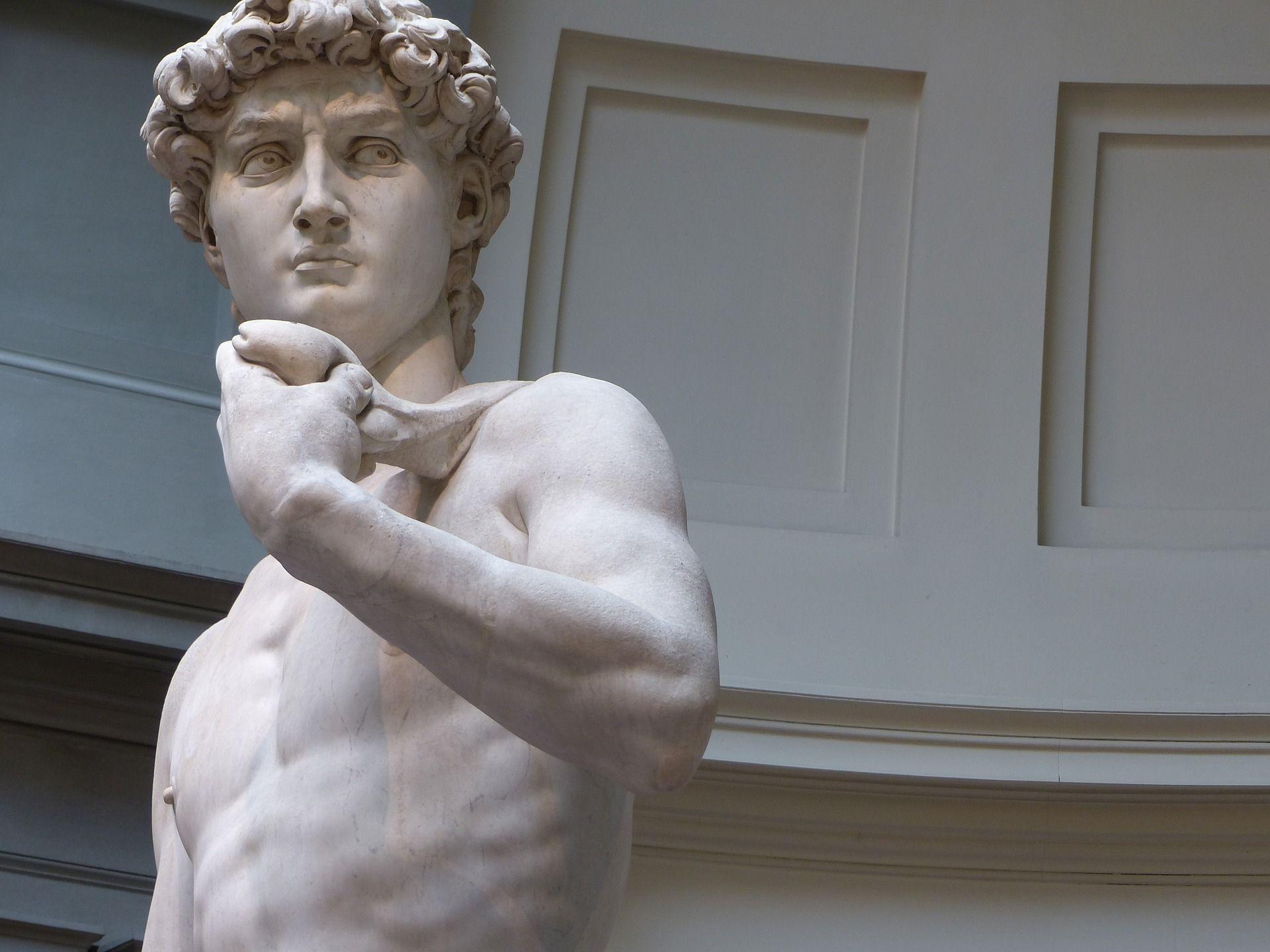 statue of David, Michelangelo, most important renaissance artists
