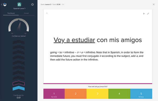 what is the best free app for learning spanish